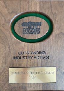 Outstanding Industry Activist 2019 Award